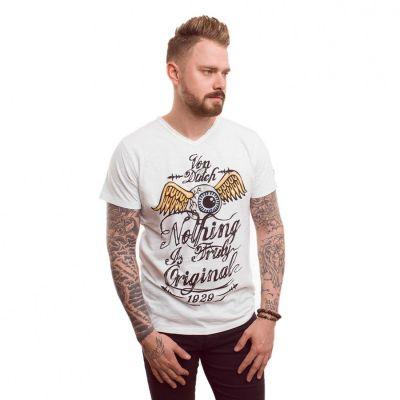 Tee-shirt Von Dutch Eyes Blanc