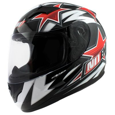 Casque intégral enfant Noend Star Kid by OCD rouge
