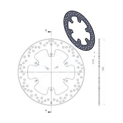 Disque de frein NG Brake Disc D.282 - 401