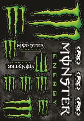 Kit déco autocollants Monster Energy 13 pièces