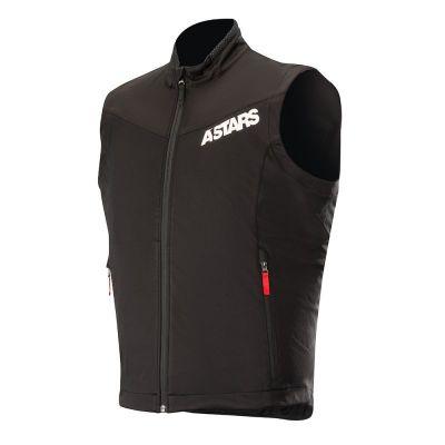 Gilet Alpinestars Session Race noir/rouge