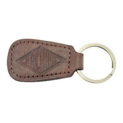 Porte-clés Archive en cuir de buffle