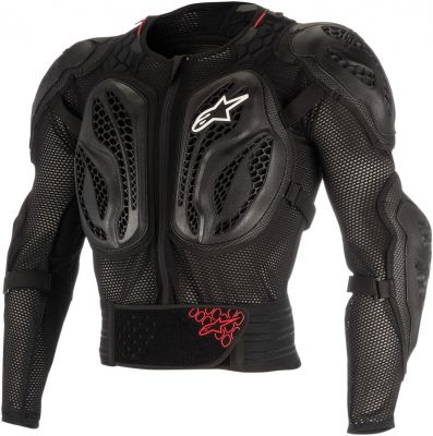 Gilet de protection enfant Alpinestars Bionic Action rouge/noir