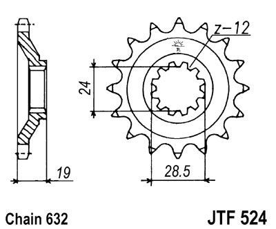 Gpz 750 Wiring Diagram also Ignition Switch Locks Reflectors additionally 1986 Kawasaki Kz650 Wiring Diagram as well Pignon Jt Sprockets Acier Pas 630 15 Dents Pour Kawasaki Z1100 84 86 also Partslist. on 1983 kawasaki gpz 1100