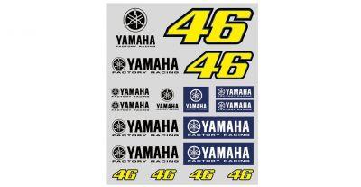 Planche stickers VR46 Valentino Rossi Yamaha 2016