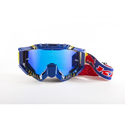 Masque cross Kini Red Bull Competition bleu