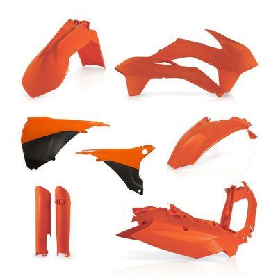Kit plastiques complet Acerbis KTM EXC/EXC-F 14-15 orange