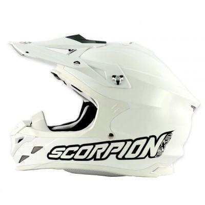 Casque cross Scorpion VX 15 EVO AIR Blanc