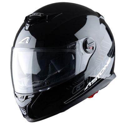 Casque Intégral Astone Gt800 Solid Exclusive noir gloss