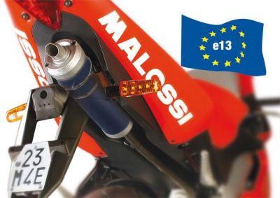 Pot Malossi MHR GP Replica GPR Euro 3 passage sous selle
