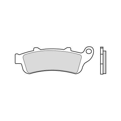 plaquettes de frein sbs m tal fritt 721hs pi ces freinage sur la b canerie. Black Bedroom Furniture Sets. Home Design Ideas