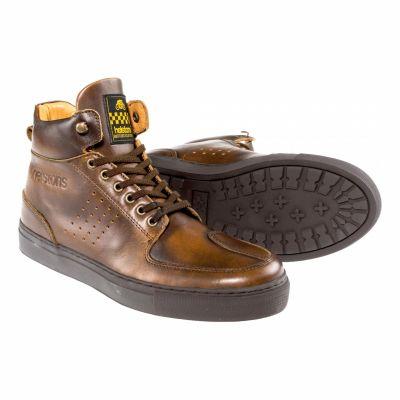 Chaussures moto Helstons Glenn marron