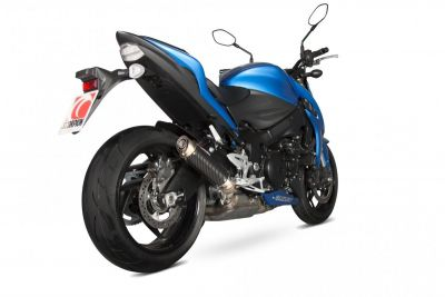 Silencieux Scorpion RP-1 GP carbone Suzuki GSX-S 1000 15-17