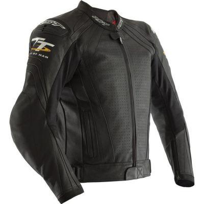 Blouson cuir RST Iom TT Grandstand CE noir
