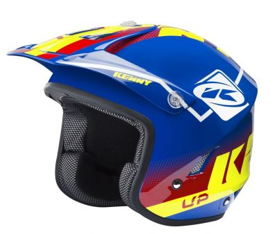 Casque Kenny Trial-up Graphic bleu/rouge/jaune