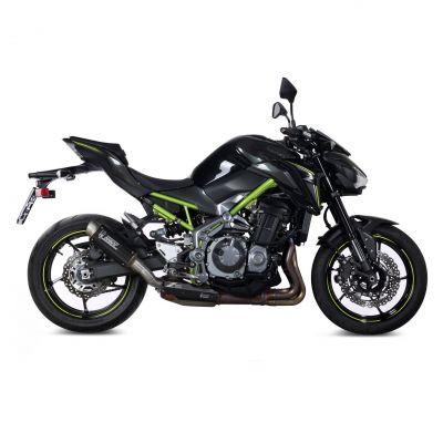 Silencieux Mivv GP Pro carbone embout inox Kawasaki Z900 17-18