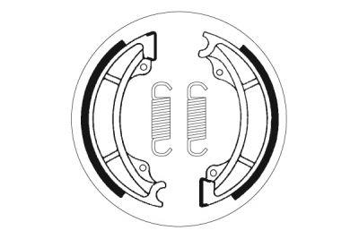 Mâchoires de frein SBS 2122