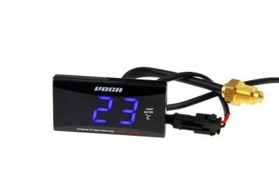 Thermomètre Voca Racing 0-120º C LED bleu