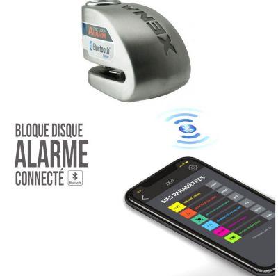 Antivol bloque disque connecté avec alarme Xena XX6 Bluetooth
