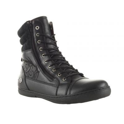 Chaussures  Shoes Storm Noir Vieilli Rugged