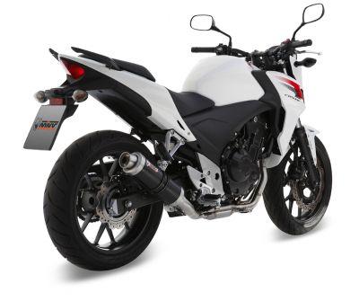 Silencieux MIVV GP Steel Black Honda CB500F / CB500X / CBR500R 13-