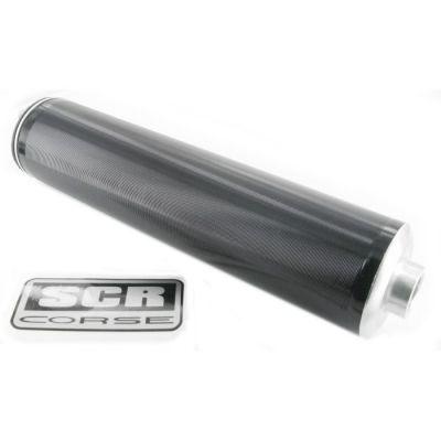 Silencieux SCR Aluminium Anodisé
