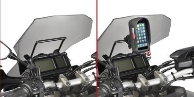Chassis support GPS Givi Yamaha MT-09 Tracer 15-17