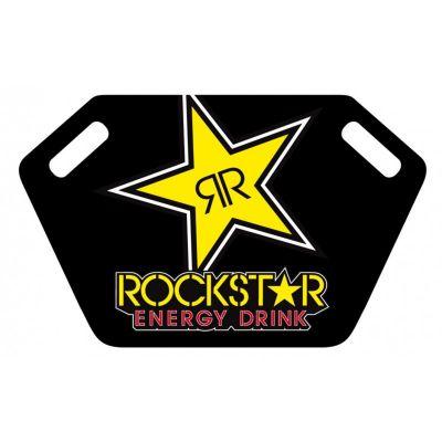Panneautage Rockstar noir/jaune