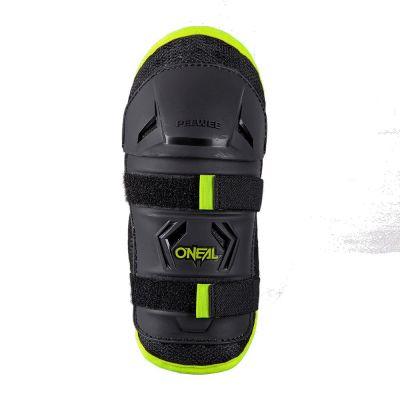 Protections de genoux enfant O'Neal Peewee jaune fluo/noir