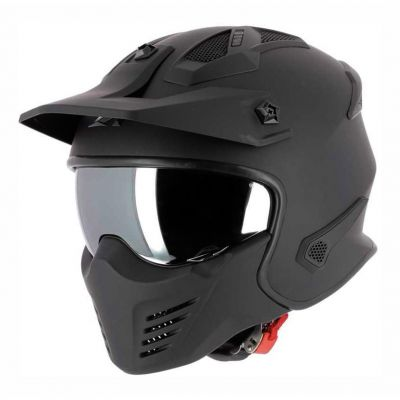 Casque transformable Astone Elektron noir mat