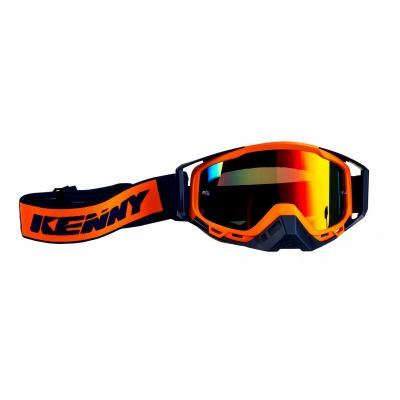 Masque cross Kenny Performance navy/orange fluo