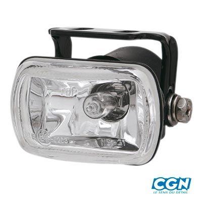 Feu Halogène Tun'R Lampe Rectangle Noir Orientable 12v55w