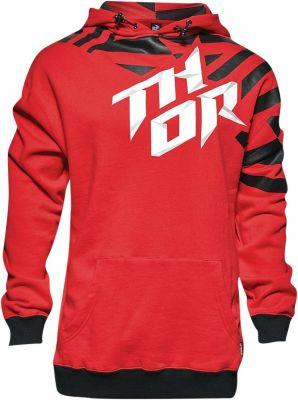 Sweat à capuche Thor Dazz rouge/noir
