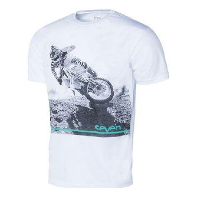 Tee-shirt enfant Seven Get It blanc