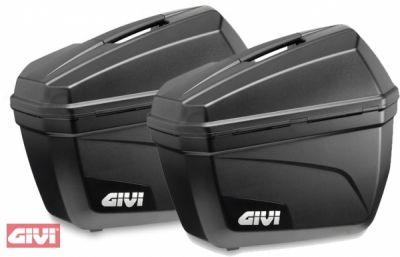 Paire de valises latérales Givi E22 22L noir