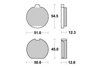 plaquettes de frein sbs c ramique 510hf pi ces freinage sur la b canerie. Black Bedroom Furniture Sets. Home Design Ideas