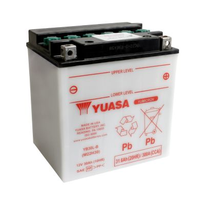 Batterie Yuasa YB30L-B 12V 30Ah