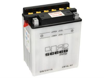 Batterie Sceed 42 YB14L-A2 12V 14Ah sans pack acide