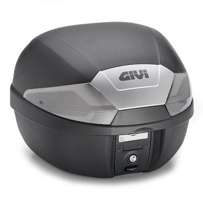Top case Givi B29 Monolock 29L catadioptres fumés
