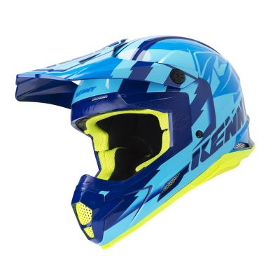 Casque cross Kenny Track navy/sky blue