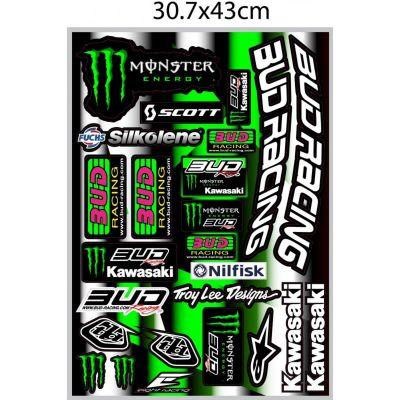 fdd4864ff79e3 Stickers pour Moto 50cc – Personnalisation Moto 50cc sur la Bécanerie