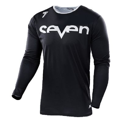 Maillot cross Seven Annex Staple noir