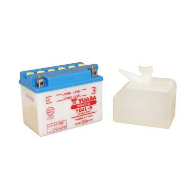 Batterie Yuasa YB4L-B 12V 4Ah avec pack acide