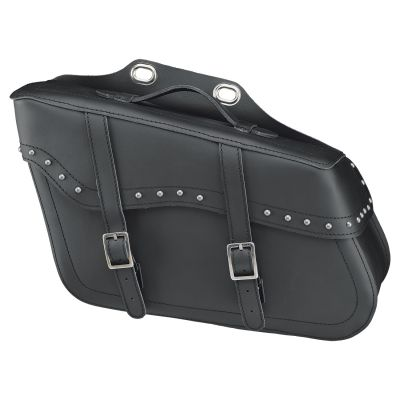 Sacoches latérales Held Cruiser Drop Bag noir avec rivets