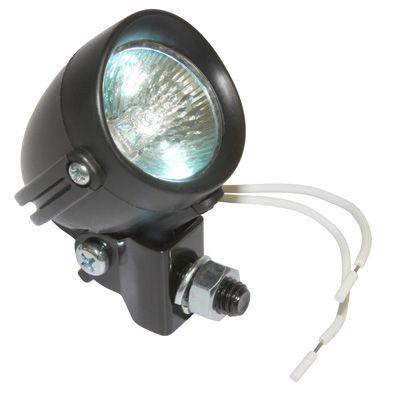 Feu halogène orientable D.30 mm noir