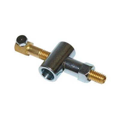 Serre câble de frein grand modèle percé avec embout de réparation