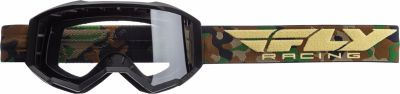 Masque cross Fly Racing Focus camouflage