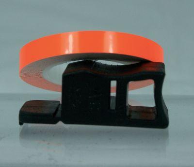 Liseret de Jante Chaft orange fluo 7mm x 1,5m avec applicateur