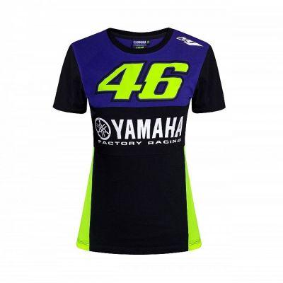 Tee-shirt femme VR46 Valentino Rossi Yamaha Dual Racing 2019