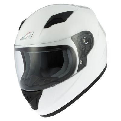 Casque intégral enfant Astone GT2 Kids Monocolor blanc